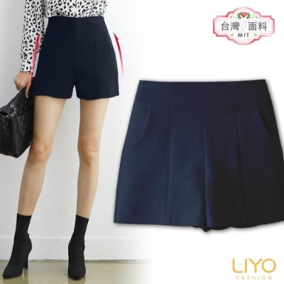 褲子-LIYO理優-韓版顯瘦翹臀短褲-E931003