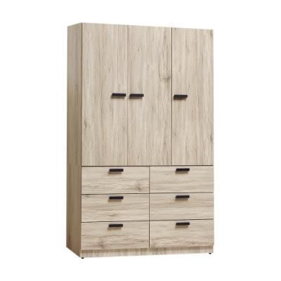 Bernice-威尼4尺六抽衣櫃-120x57x198cm
