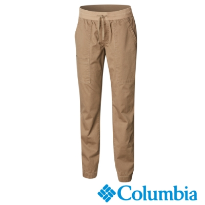 Columbia 哥倫比亞 女款-彈性長褲-棕褐 UAK11590TN