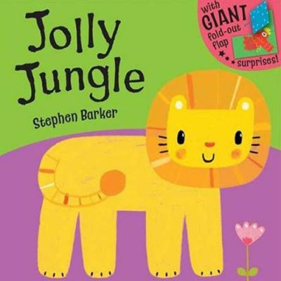 Jolly Jungle 歡樂叢林大型內頁幼兒書