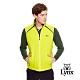 【Lynx Golf】男款口瑞士Schoeller 3XDRY無袖背心-黃綠色 product thumbnail 2