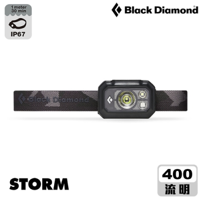 【Black Diamond】Storm頭燈 620658 / 黑色