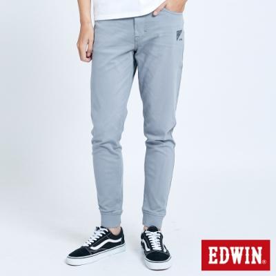 EDWIN JERSEYS 迦績 EJ6 涼感 EFS 束口牛仔褲-男-灰色
