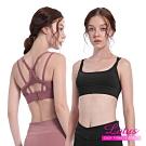 運動內衣 包覆托提雙肩帶運動內衣-2色