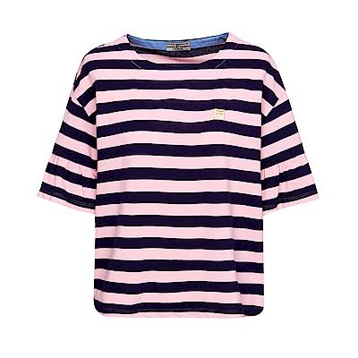 FILA 女款圓領短袖T恤-粉色 5TET-1709-PK