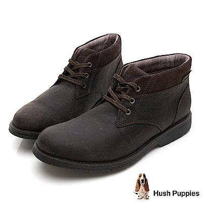 Hush Puppies Bounce 超彈力短靴-深棕