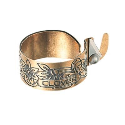 日本可樂牌Clover復古便利系黃銅切線指套切線戒指57-535(不鏽鋼刃)拼布割線器切線器斷線器切線套