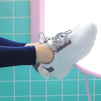 台灣製造.高彈迴力~透氣網布減壓減震運動休閒鞋.3色-OB大尺碼