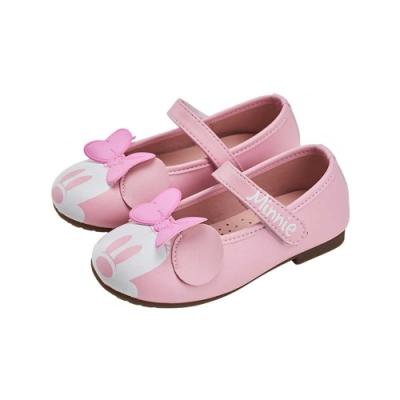 迪士尼童鞋  米妮   經典造型公主鞋-粉