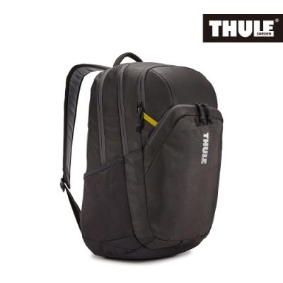 THULE-Campus 25L電腦後背包TCAM-4216-曜石黑/黃
