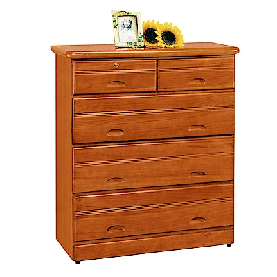 綠活居 尼圖時尚3.4尺實木五斗櫃/收納櫃-103x53.5x119.5cm-免組