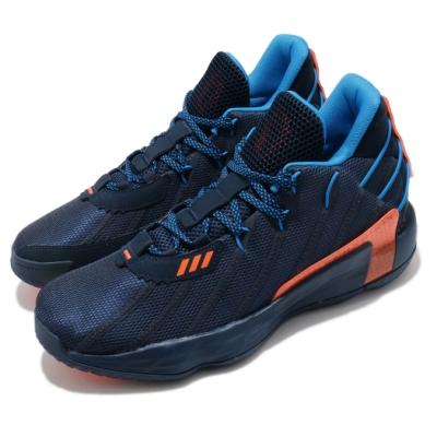 adidas 籃球鞋 Dame 7 GCA 運動 男鞋 愛迪達 Lights Out 里拉德 反光 藍橘 FZ1103
