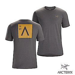 Arcteryx 始祖鳥 24系列 男 A Squared 有機棉 短袖Tee 機長灰