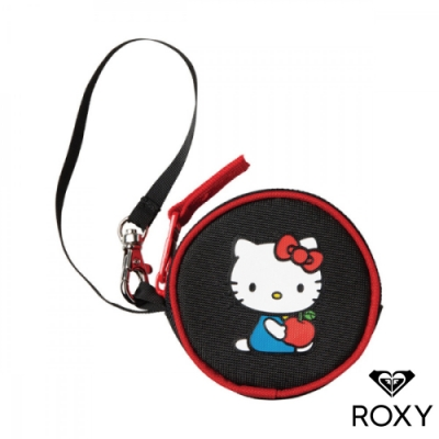 【ROXY】HELLO KITTY COIN CASE 聯名零錢袋 黑色