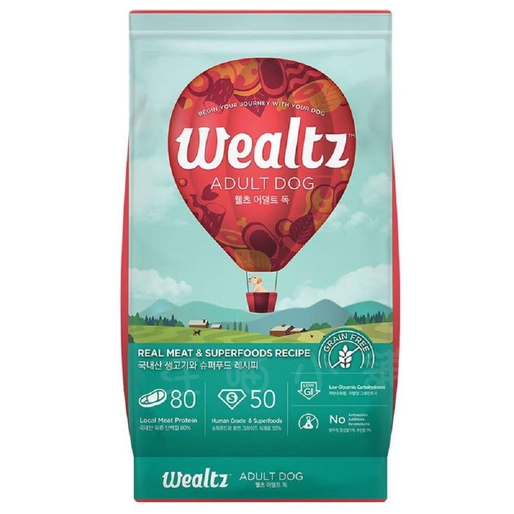 Wealtz維爾滋天然無穀寵物糧-成犬食譜 2.1kg (300g*7EA)【兩包組】