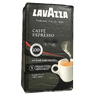 LAVAZZA CAFFE ESPRESSO 黑牌咖啡粉(真空鋁箔包3包)