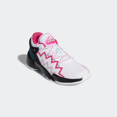 ADIDAS 籃球鞋 運動鞋 運動 訓練 男鞋 白黑 FZ1432 D.O.N. Issue 2 GCA
