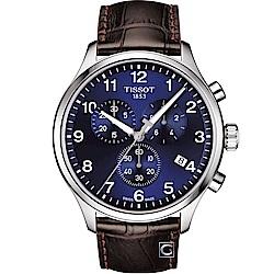 TISSOT天梭Chrono XL韻馳系列經典計時腕錶(T1166171604700)