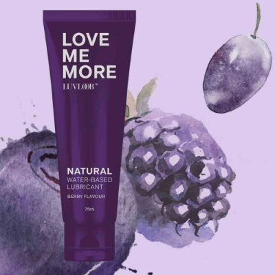LUVLOOB 純天然保濕水性潤滑液-莓果
