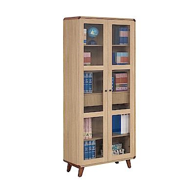 H&D 柏克2.67尺單抽書櫃