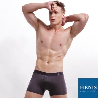 HENIS FORCE磁石原力 透氣機能 能量四角褲 (灰)