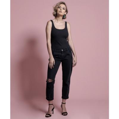 ONETEASPOON DOUBLE BLACK AWESOME牛仔褲-(女)