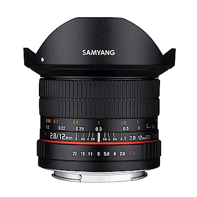 SAMYANG 12mm F2.8 ED AS NCS Fisheye FOR Canon