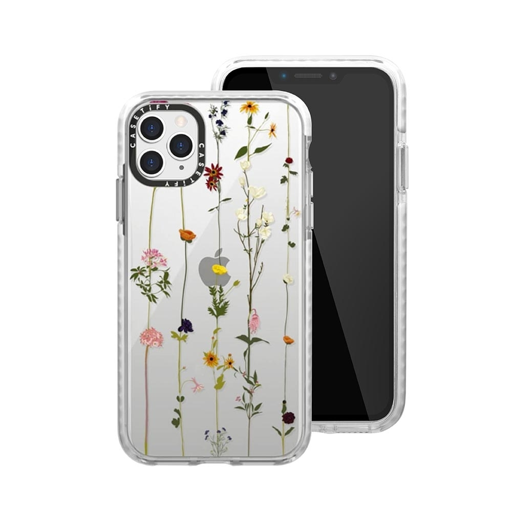Casetify iPhone 11 Pro 耐衝擊保護殼-小花串