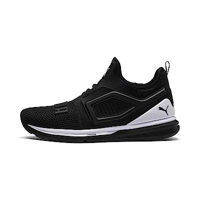 PUMA-IGNITELimitless2男女慢跑運動鞋-黑色