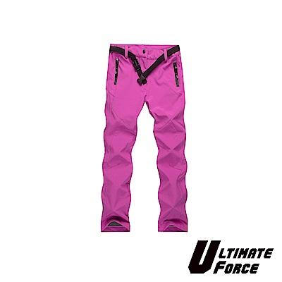 Ultimate Force「衝鋒」女款軟殼保暖工作褲(洋紅色)