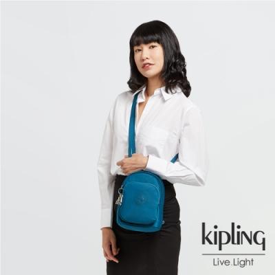 Kipling 神秘群青藍休閒後背包-DELIA COMPACT
