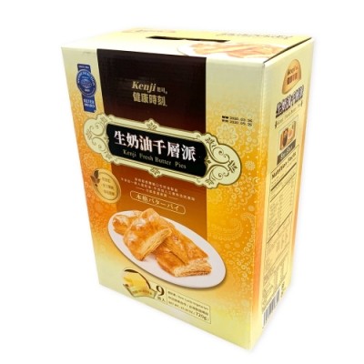 KENJI 健司 生奶油千層派 80公克 X 9盒