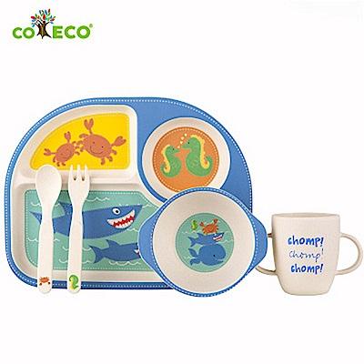 coeco竹纖維兒童經典5件組-鯊魚
