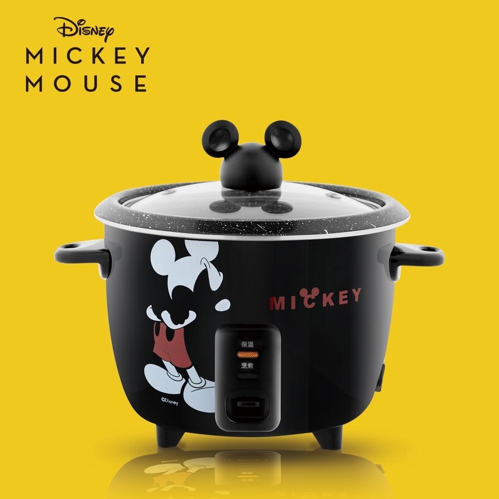 Disney迪士尼米奇曜黑食物料理鍋/電鍋 MK-HC2102