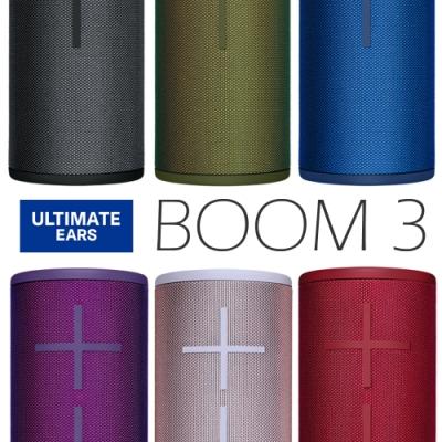 Ultimate Ears UE Boom <b>3</b> 羅技 無線藍芽喇叭 台灣公司貨