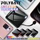 POLYBATT自帶線行動電源for iPhone/ Type-C /Micro LED電量顯示 USB充電 移動電源 product thumbnail 1