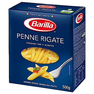 百味來 Barilla 義大利筆管麵n.73(500g)