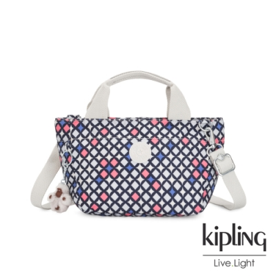 Kipling 華麗閃耀繽紛手提兩用斜背包-SUGAR S II