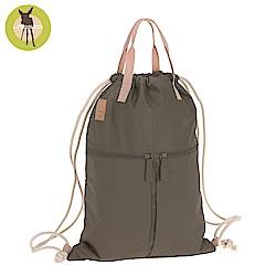 德國Lassig-簡約束口袋型後背媽媽包(多色可選)