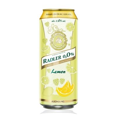 德國 Radler 0.0% 萊德無酒精啤酒風味飲-檸檬(500ml)