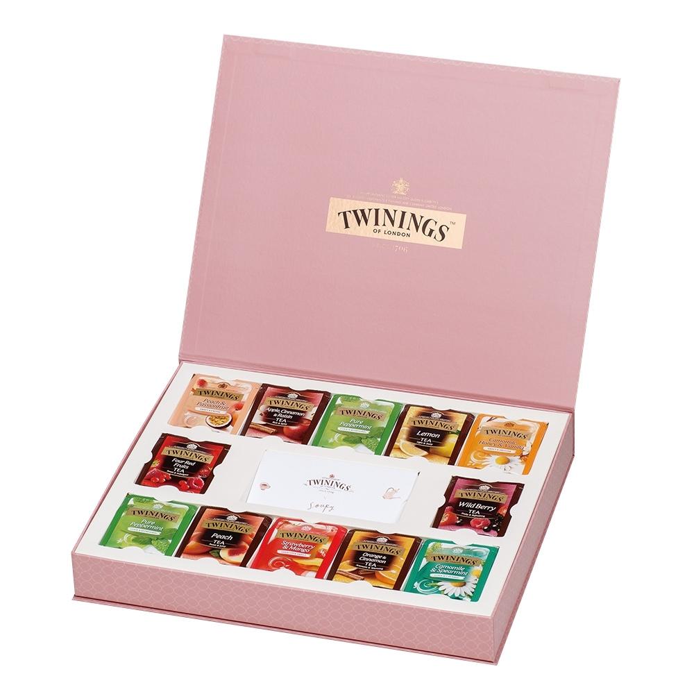 唐寧茶 藝術家禮盒-清氛花茶系列(48茶包)