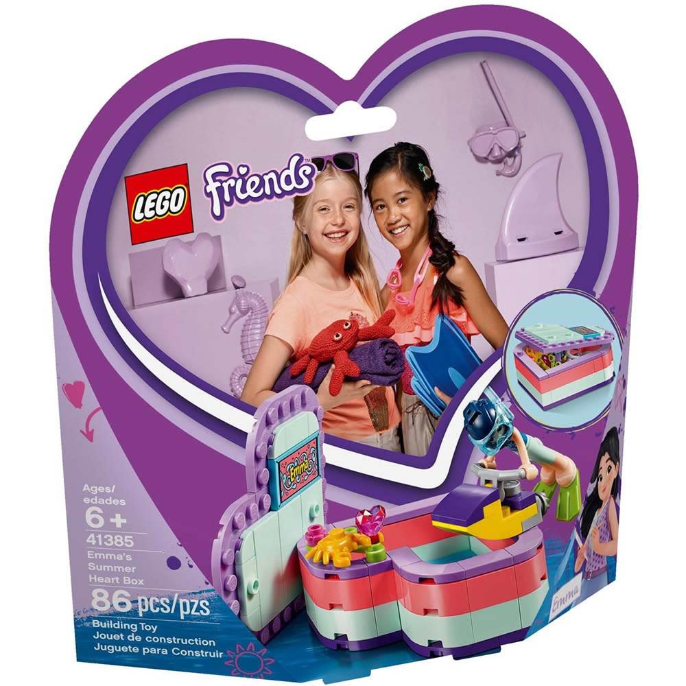 樂高LEGO Friends系列 - LT41385 艾瑪的夏日心型盒