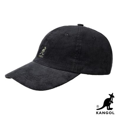 KANGOL-CORD燈芯絨棒球帽-黑色