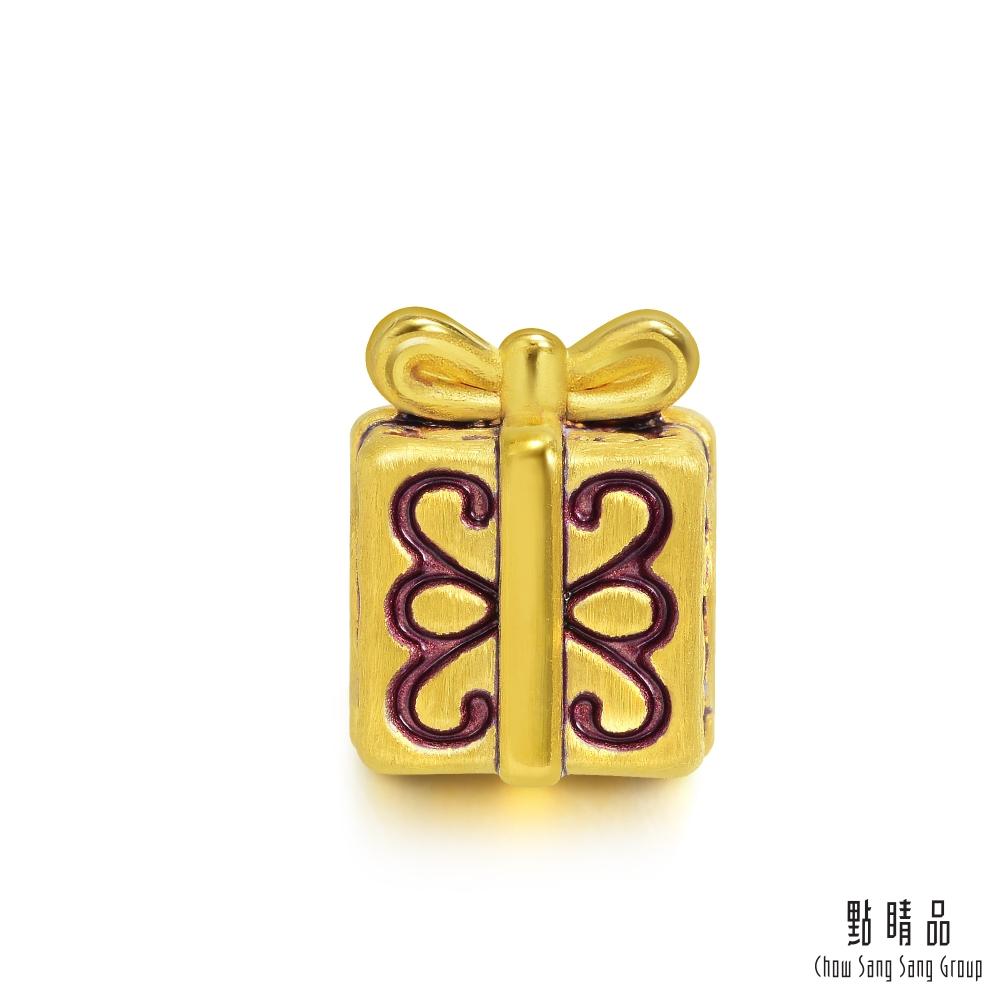 點睛品 Charme 驚喜禮物 黃金串珠