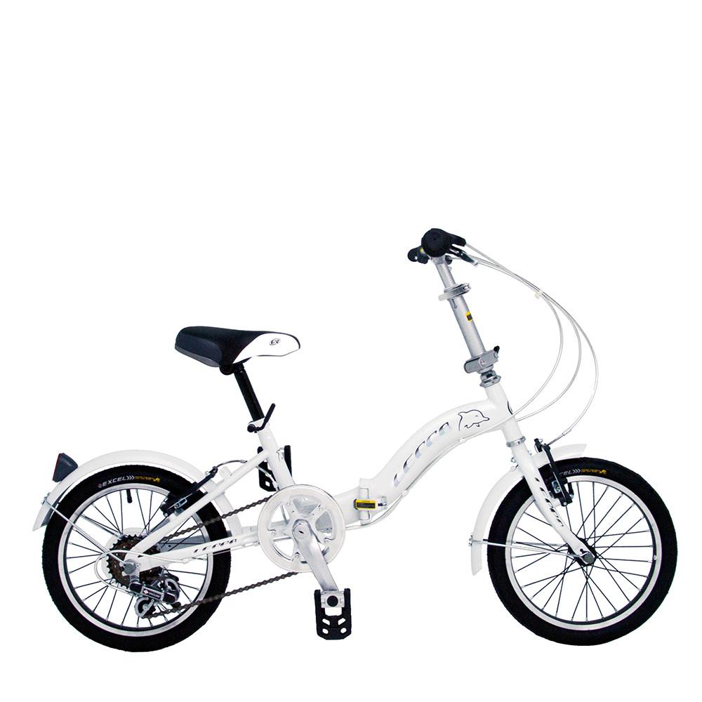 BIKEONE LP1  SHIMANO 16吋6速摺疊兒童腳踏車 超輕便好攜好摺