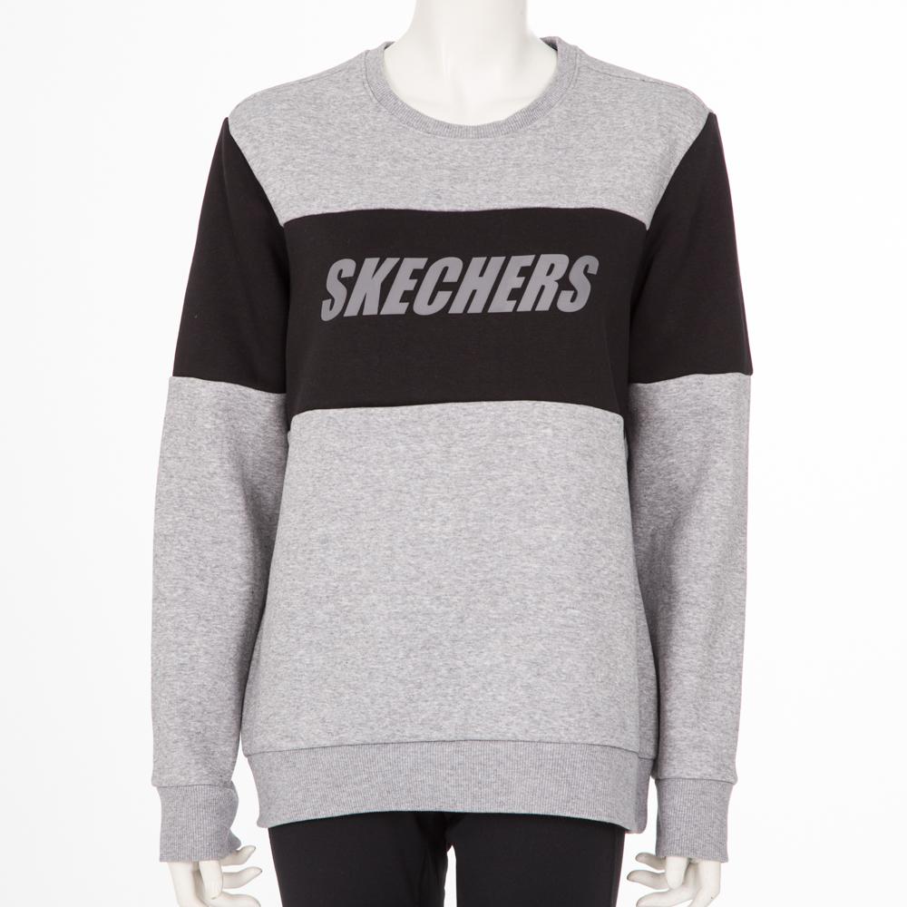 SKECHERS 女長袖衣 - SMAWW18B535-MEGY