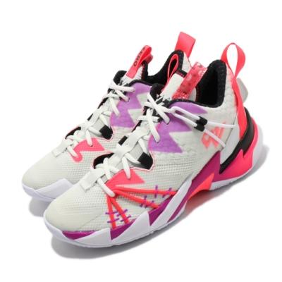 Nike 籃球鞋 Why Not Zer03 運動 男鞋 喬丹 明星款 避震 包覆 球鞋 穿搭 白 紫 CK6612101
