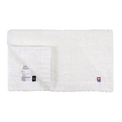 日本丸真 頂級今治極輕量中空棉毛巾-純白