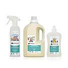 法國貝貝 Centifolia Bebe 天然洗衣精 / 碗盤清潔劑 / 多用途清潔噴霧-清潔三兄弟