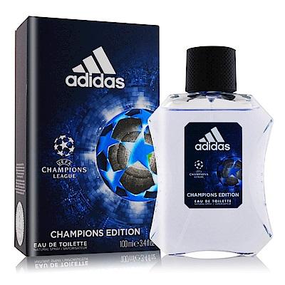 ADIDAS 愛迪達 歐冠聯盟男性淡香水100ml [冠軍聯賽]